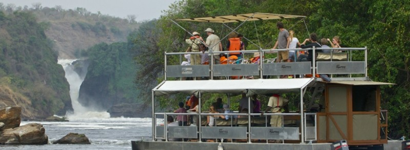 Boat cruise safari to Murchison Falls National Park
