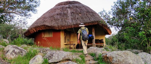 Accommodation in Murchison falls