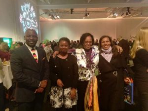 Uganda delegation at the International Travel Bourse