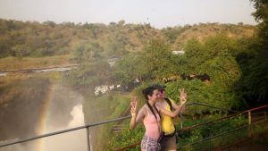 A hike to the top of Murchison falls